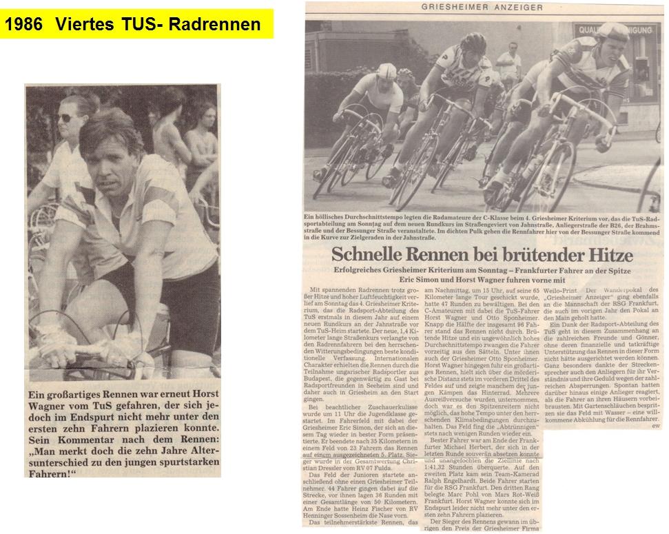 1986 4. Rundstreckenrennen