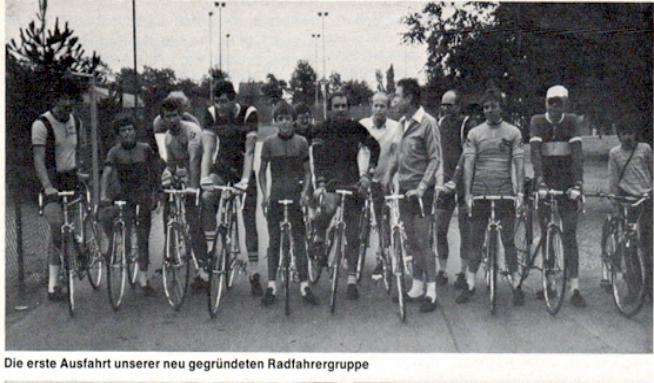 Gründer der TuS Radsportabteilung